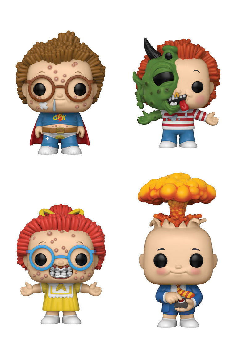 Preorder  Garbage Pail Kids Pop! Vinyl Figures Set of 4