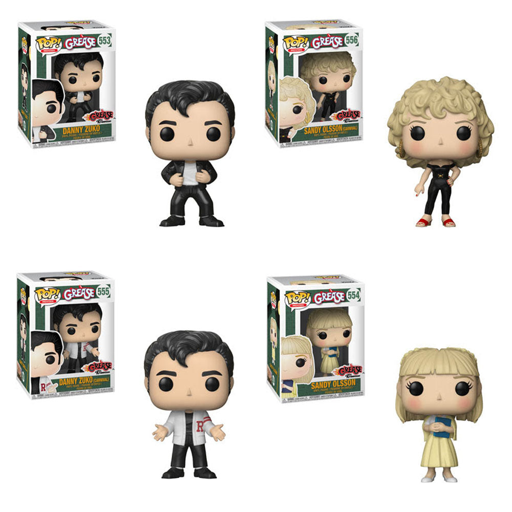 Preorder May 2018 Grease Pop! Vinyl Figures Set of 4