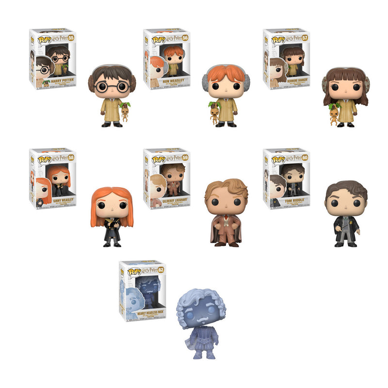 Preorder August 2018 Harry Potter Pop! Vinyl Figures Set of 7