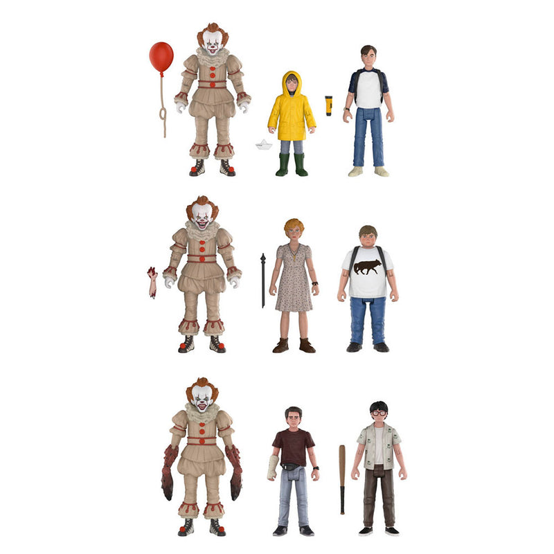 Preorder June 2018 It Action Figure 3-Pack Sets #1, #2 and #3