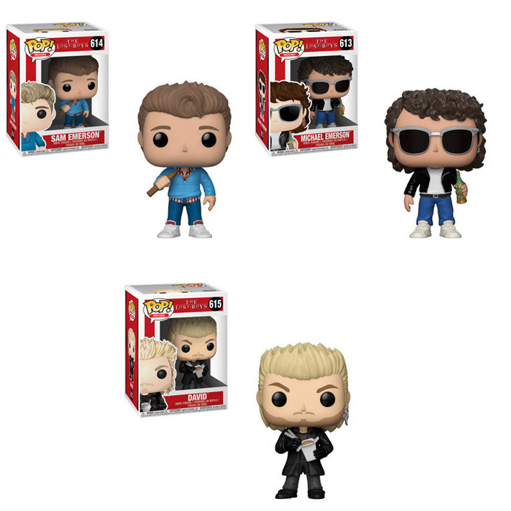 27d94c9a9cc Preorder The Lost Boys Pop! Vinyl Figures Set of 3 – Toy Wars