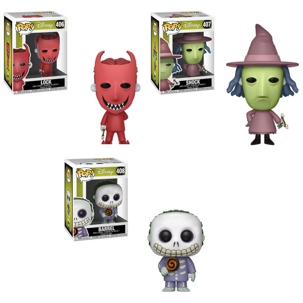 Preorder The Nightmare Before Christmas Lock Shock and Barrel Pop ...