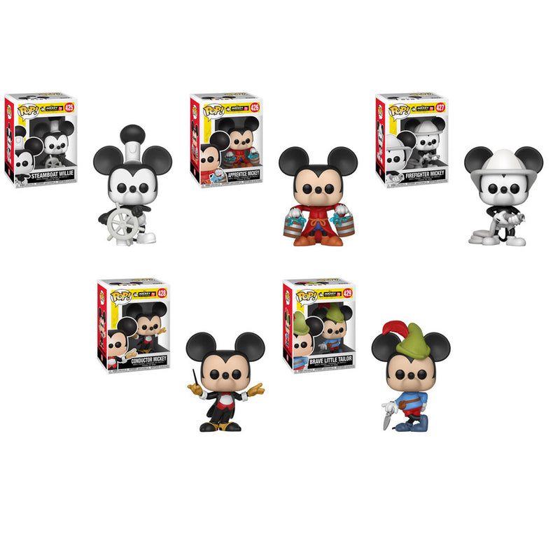 Preorder Mickey's 90th Pop! Vinyl Figures Set of 5