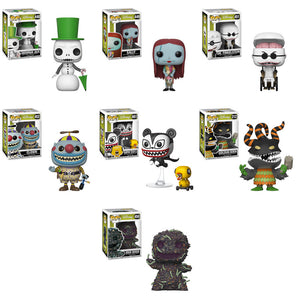 Preorder Nightmare Before Christmas Pop! Vinyl Figures Set of 7