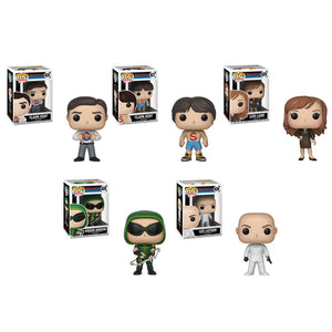 Preorder May 2018 Smallville Pop! Vinyl Figure Set of 5