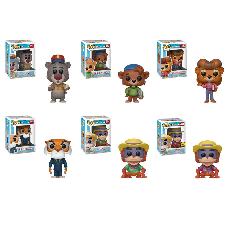 Preorder TaleSpin Pop! Vinyl Figures Set of 6 with Chase