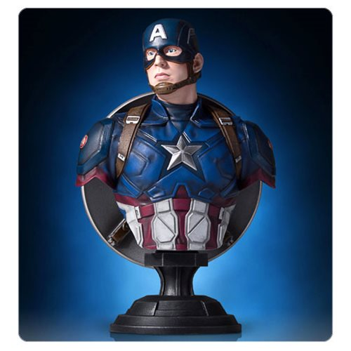 Preorder April 2017 Captain America: Civil War Classic Mini Bust - Toy Wars - Gentle Giant
