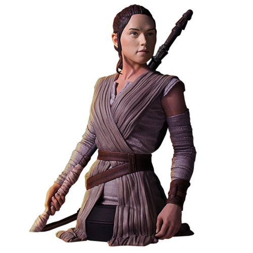 Preorder April 2017 Star Wars: The Force Awakens Rey Mini Bust - Toy Wars - Gentle Giant