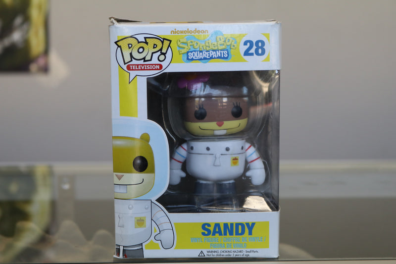 POP! SpongeBob Squarepants Sandy Cheeks Vinyl Figure #28