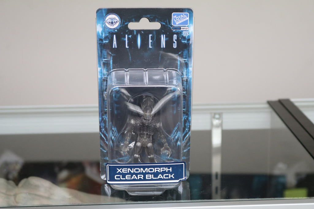 Loyal Subjects SDDC Exclusive Aliens Xenomorph Clear Black Figure