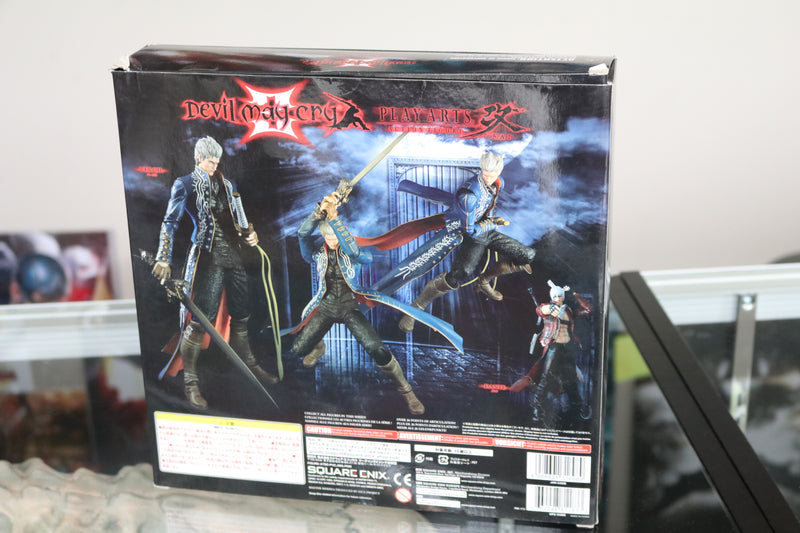 Devil May Cry 3 Play Arts Kai Vergil 9.5 Inch Action Figure
