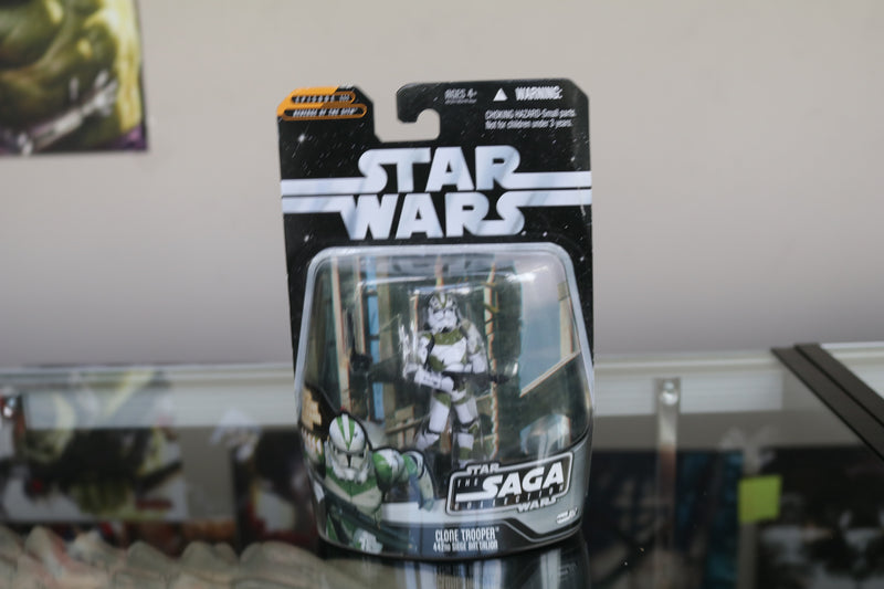 Star Wars Episode III Saga Collection 442nd Siege Battalion Clone Trooper Action Figure