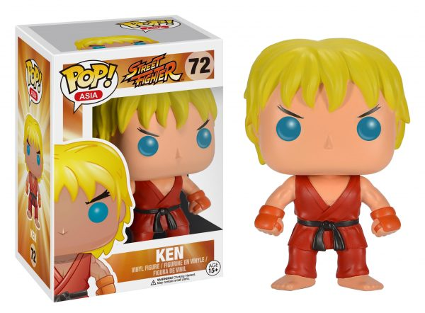 Street Fighter Ken POP! Vinyl Figure - Toy Wars - Funko