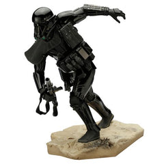Preorder July 2017 Star Wars Rogue One Death Trooper ArtFX Statue - Toy Wars - Kotobukiya