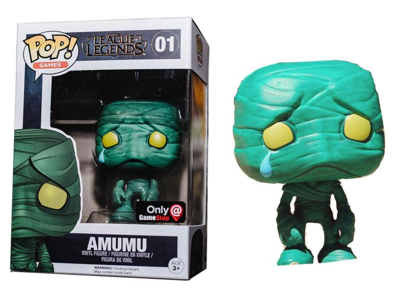 League of Legends Amumu Game Stop Exclusive POP! Vinyl Figure #01
