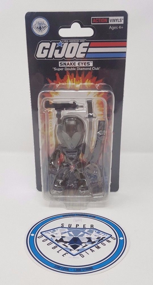 Loyal Subjects SDDC G.I. Joe Snake Eyes Figure