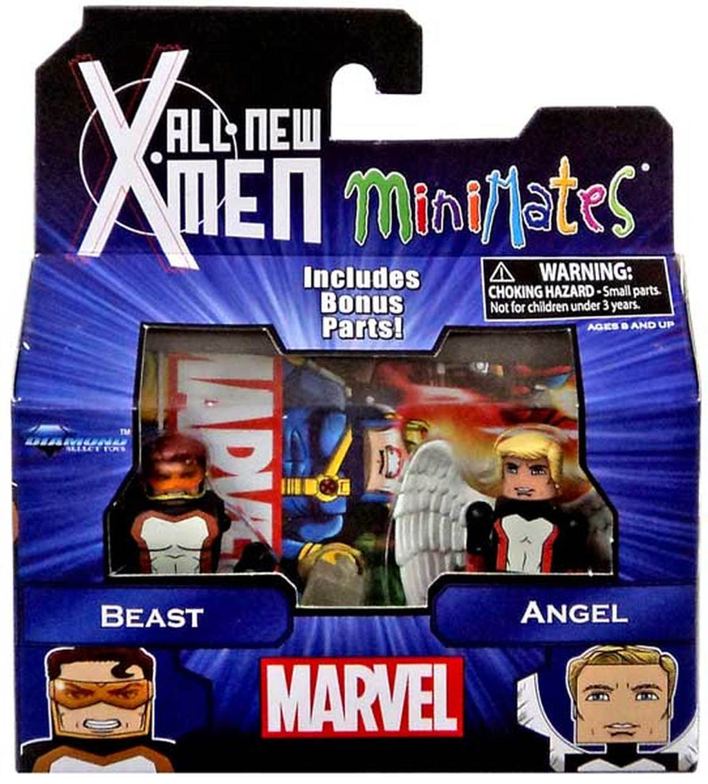 Marvel Minimates All New X-Men Series 59 Mini Figure 2-Pack Beast & Angel by Diamond Select