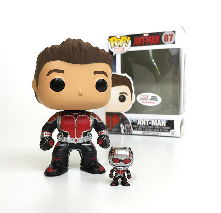 Funko Marvel Ant-Man Funko POP! Marvel Ant Man Exclusive – Toy Wars 488a127bc7cf