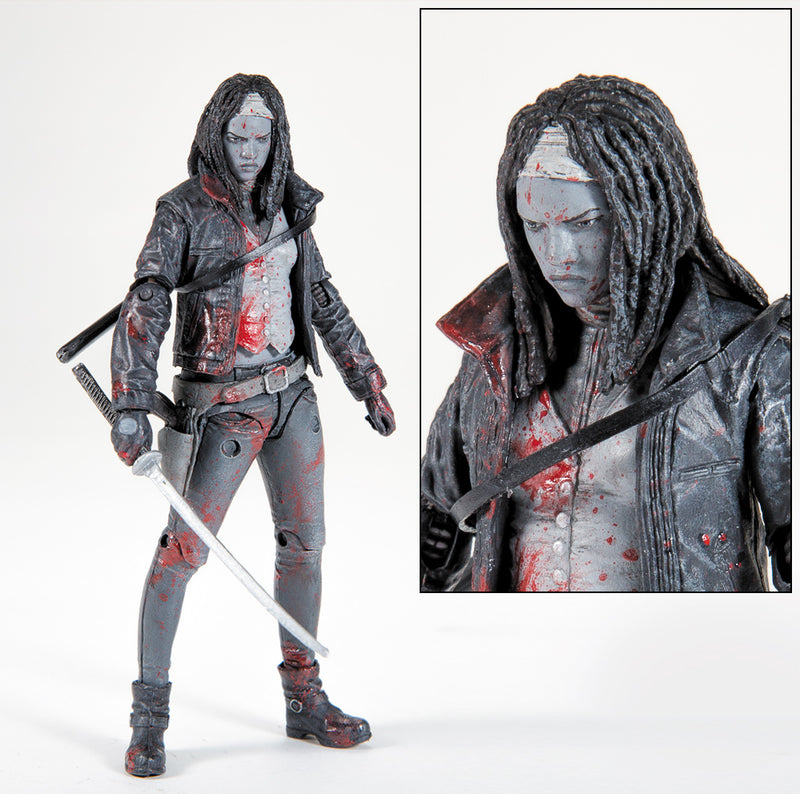 SDCC 2015 San Diego Comic Con Exclusive Walking Dead B&W All Out War Michonne Figure