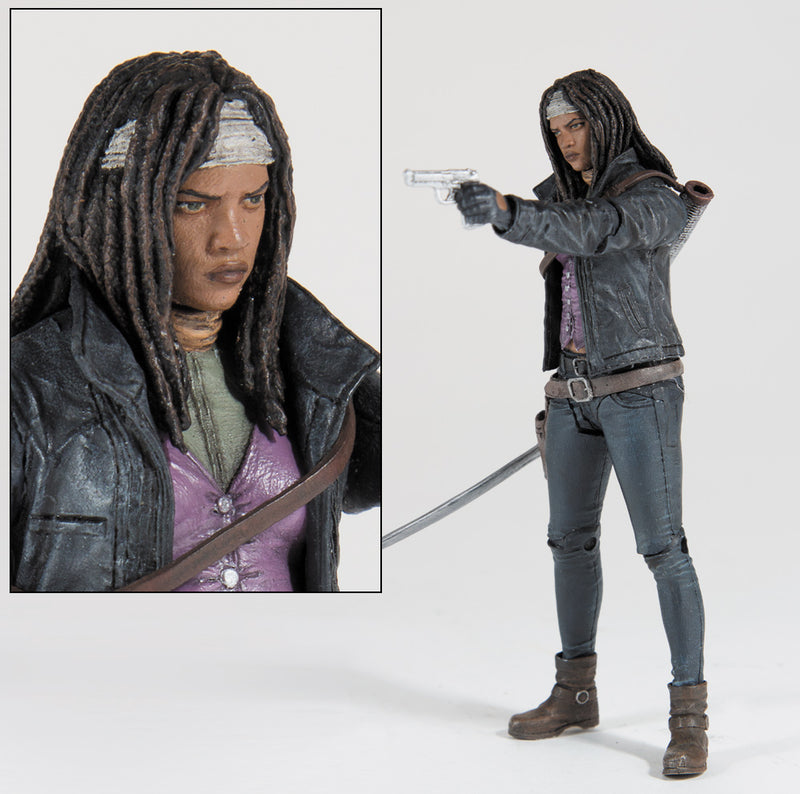 SDCC 2015 Exclusive Walking Dead Color All Out War Michonne Figure