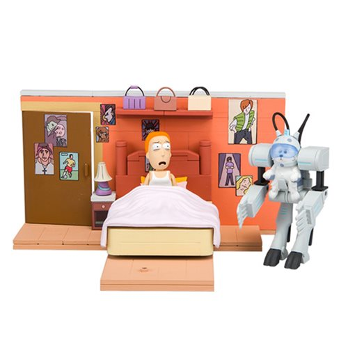Preorder January 2018 Rick and Morty You Shall Now Call Me Snowball Medium Construction Set