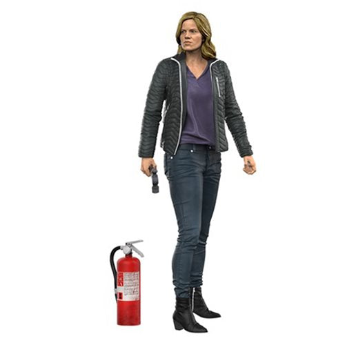 Fear the Walking Dead Madison Clark 7-Inch Color Tops Red Wave #4 Action Figure