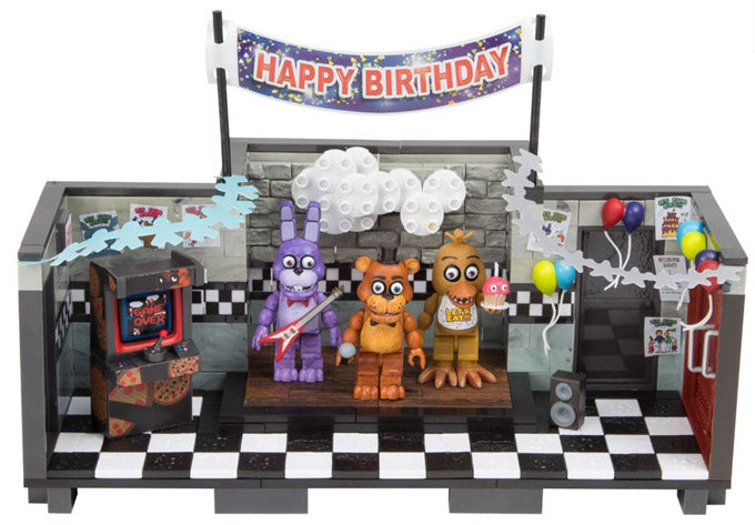 Preorder November 2018 Five Nights at Freddy's Show Stage Construction Set