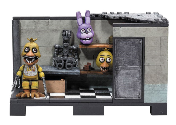 Preorder November 2018 Five Nights at Freddy's Backstage Construction Set