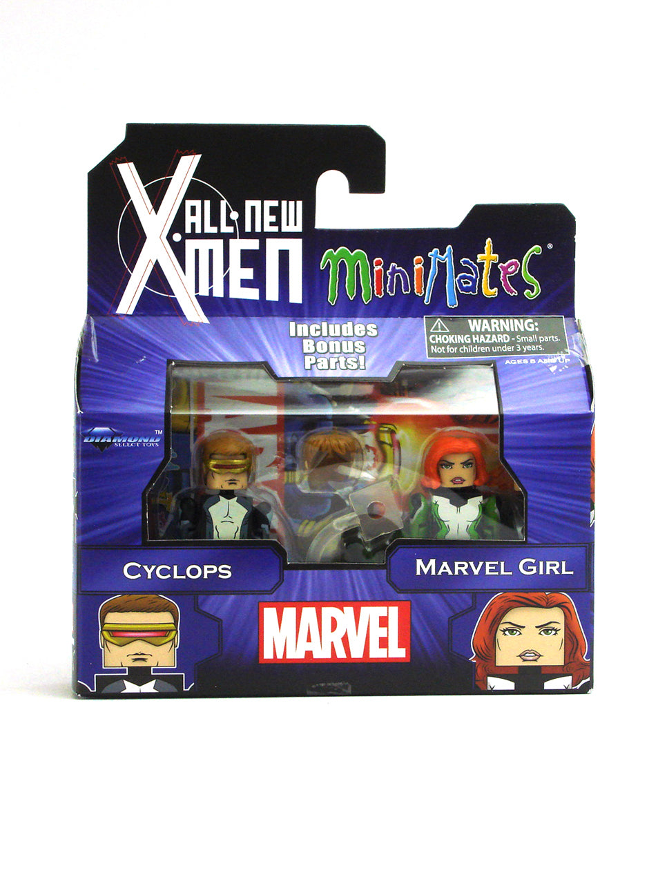 Marvel Minimates All New X-Men Series 59 Mini Figure 2-Pack Cyclops & Marvel Girl