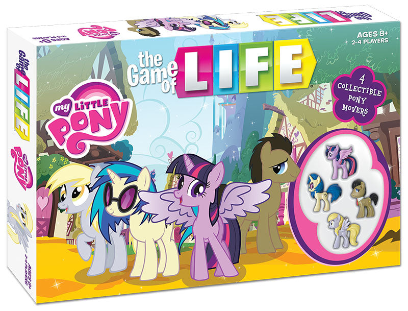 My Little Pony Friendship Is Magic Edition The Game of Life