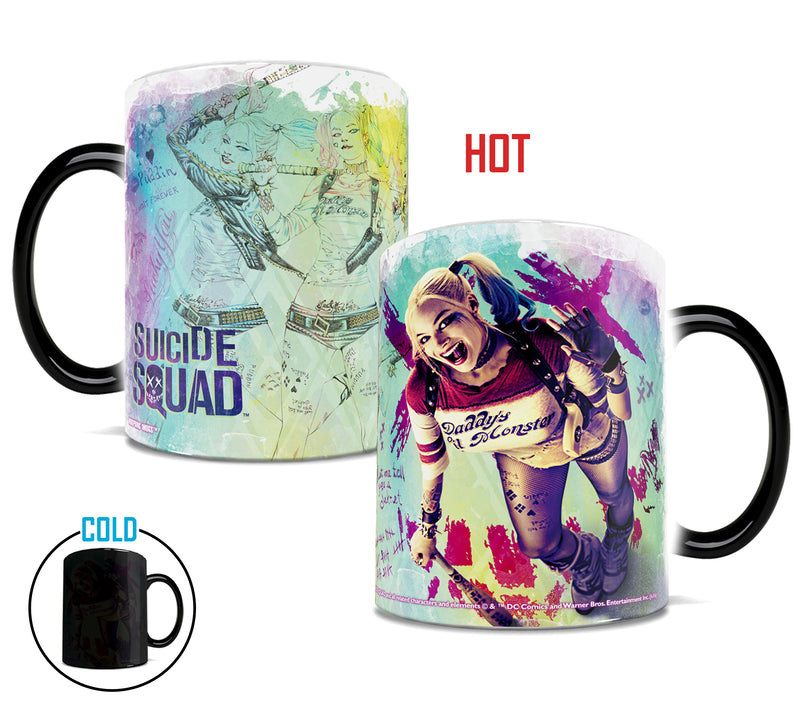SDCC 2016 Exclusive Harley Quinn Suicide Squad Morphing Mugs Heat-Sensitive Mug