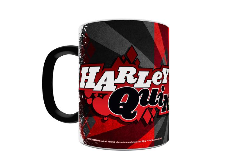 SDCC 2016 Exclusive DC Comics Batman Harley Quinn Morphing Mug