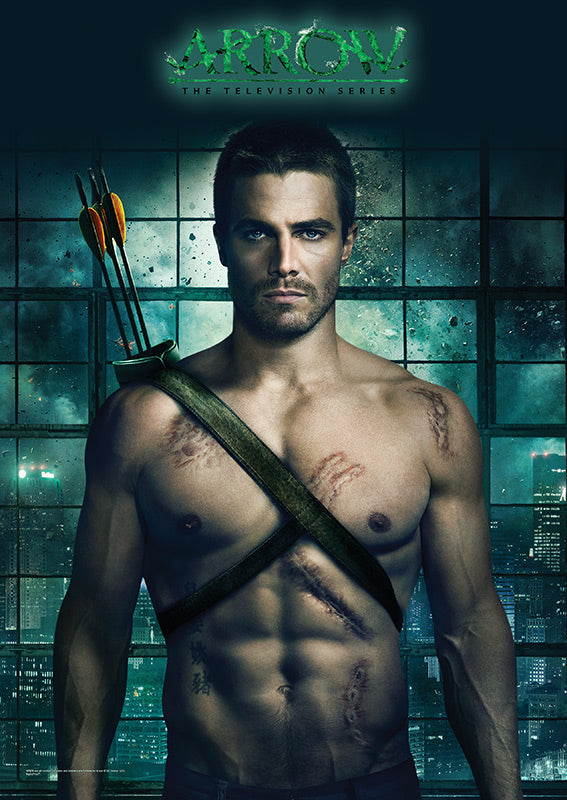 SDCC 2015 Exclusive Arrow Oliver Stephen Amell MightyPrint Wall Art Print