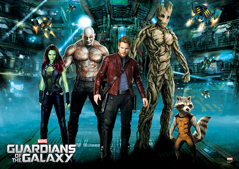 Guardians of the Galaxy MightyPrint Wall Art Print