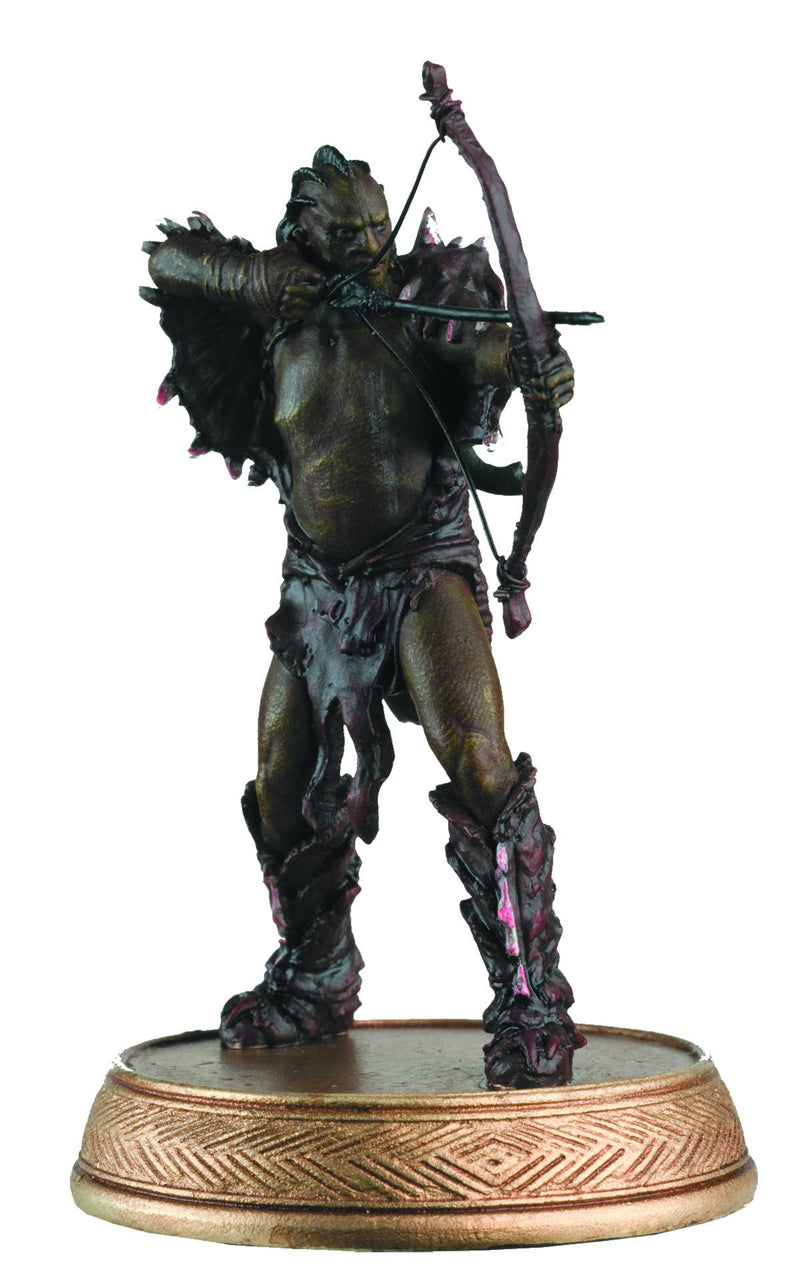 Hobbit Motion Picture Figure and Magazine #7 Narzug the Orc