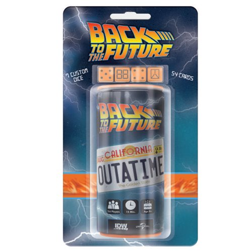 Back to the Future OUTATIME Dice Game - Toy Wars - IDW