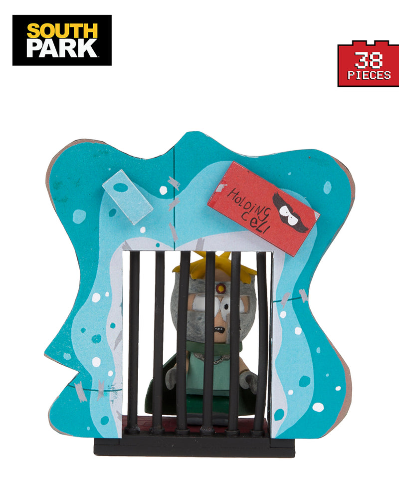 "Preorder September 2017 South Park ""Professor Chaos"" Butters with Holding Cell Micro Construction Set"