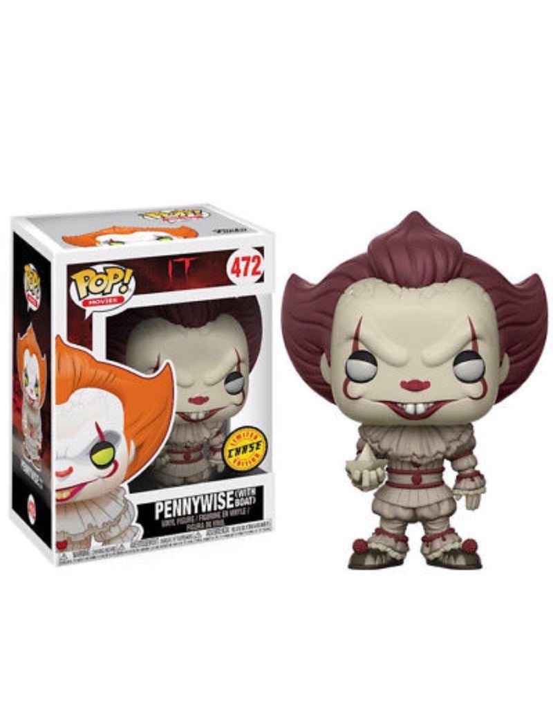 Stephen King's It Pennywise Clown Yellow Eyes Chase Pop! Vinyl Figure #472