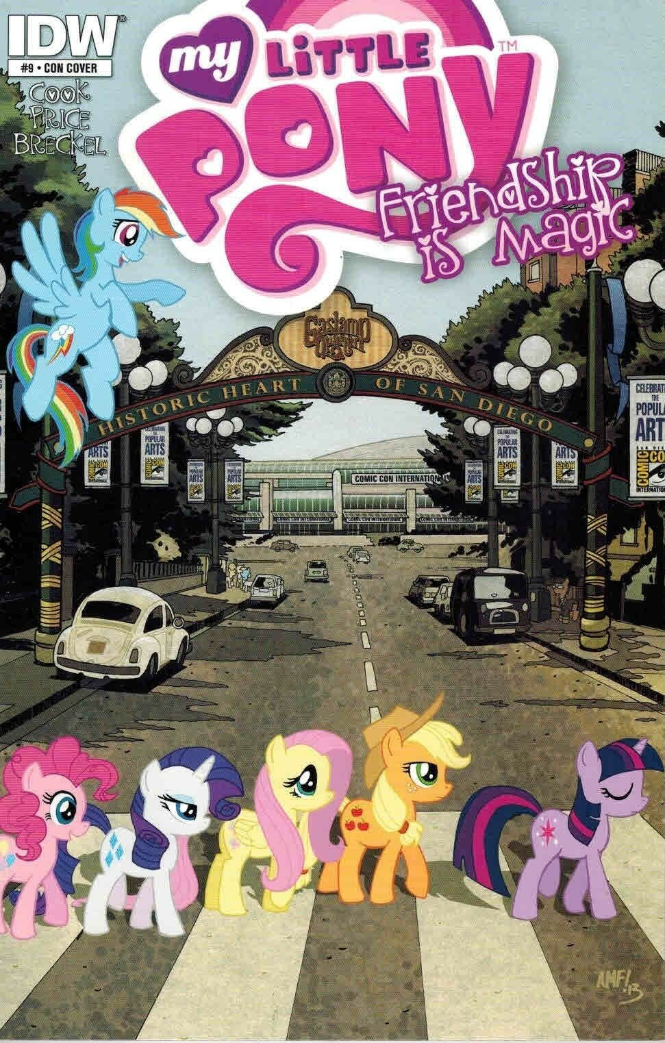 SDCC 2013 Exclusive My Little Pony Friendship is Magic #9 Comic Book