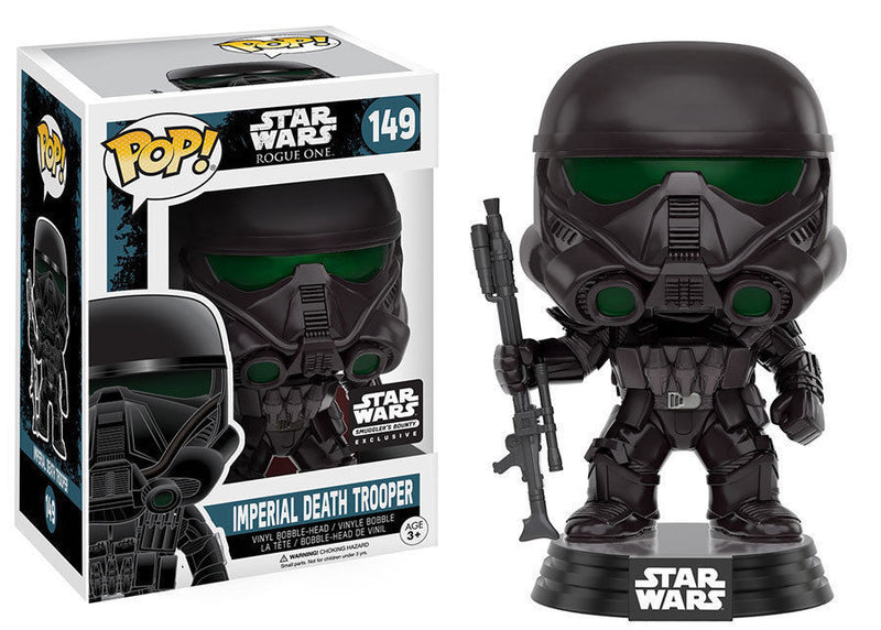 2016 November Smugglers Bounty Star Wars Death Trooper Exclusive POP!