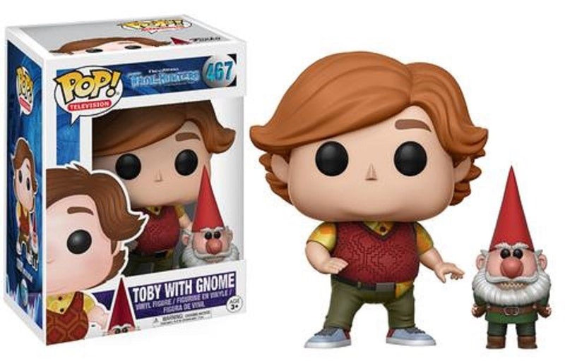 Trollhunter Toby with Gnome POP! Vinyl Figure