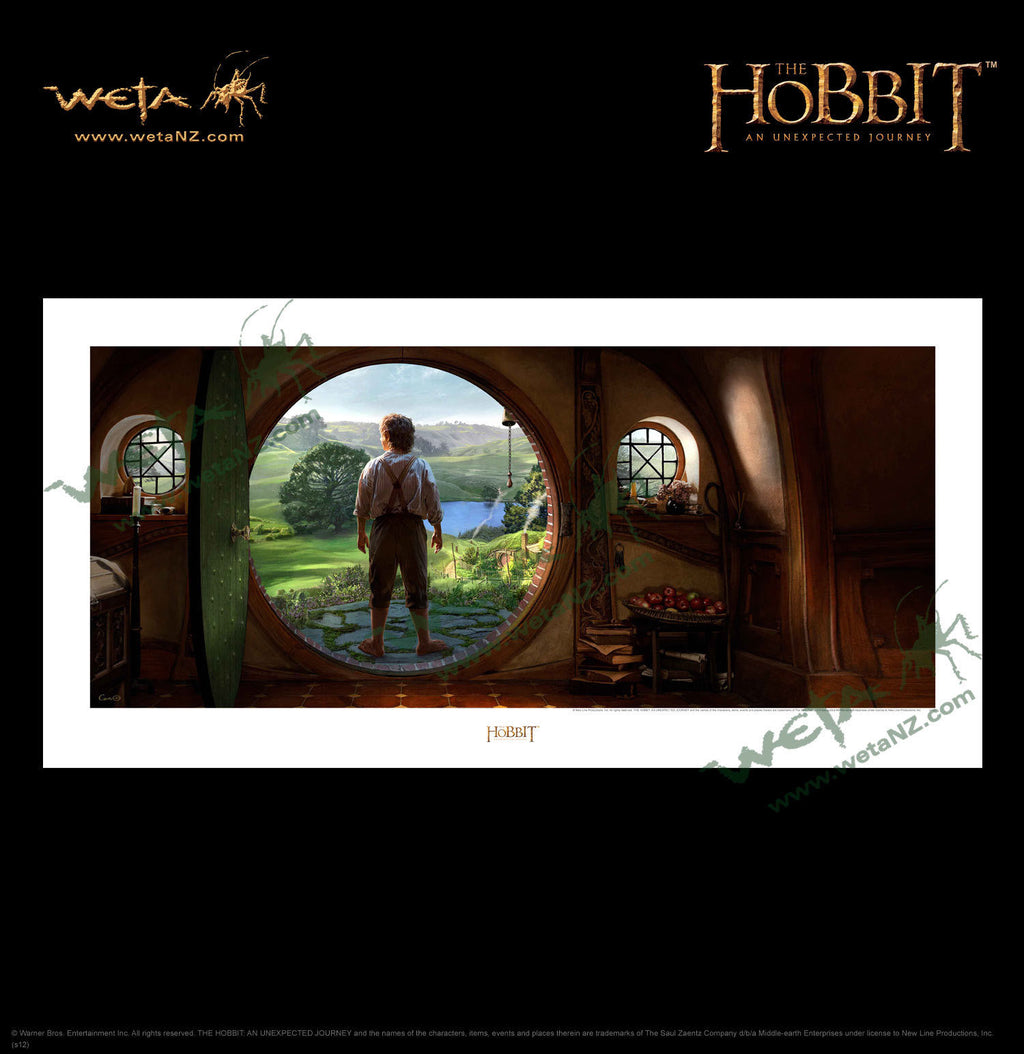 "The Hobbit LOTR ""An Unexpected Journey""  Art Print"
