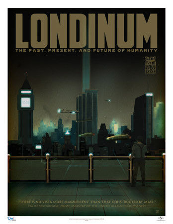Londinum Limited Edition Travel Poster