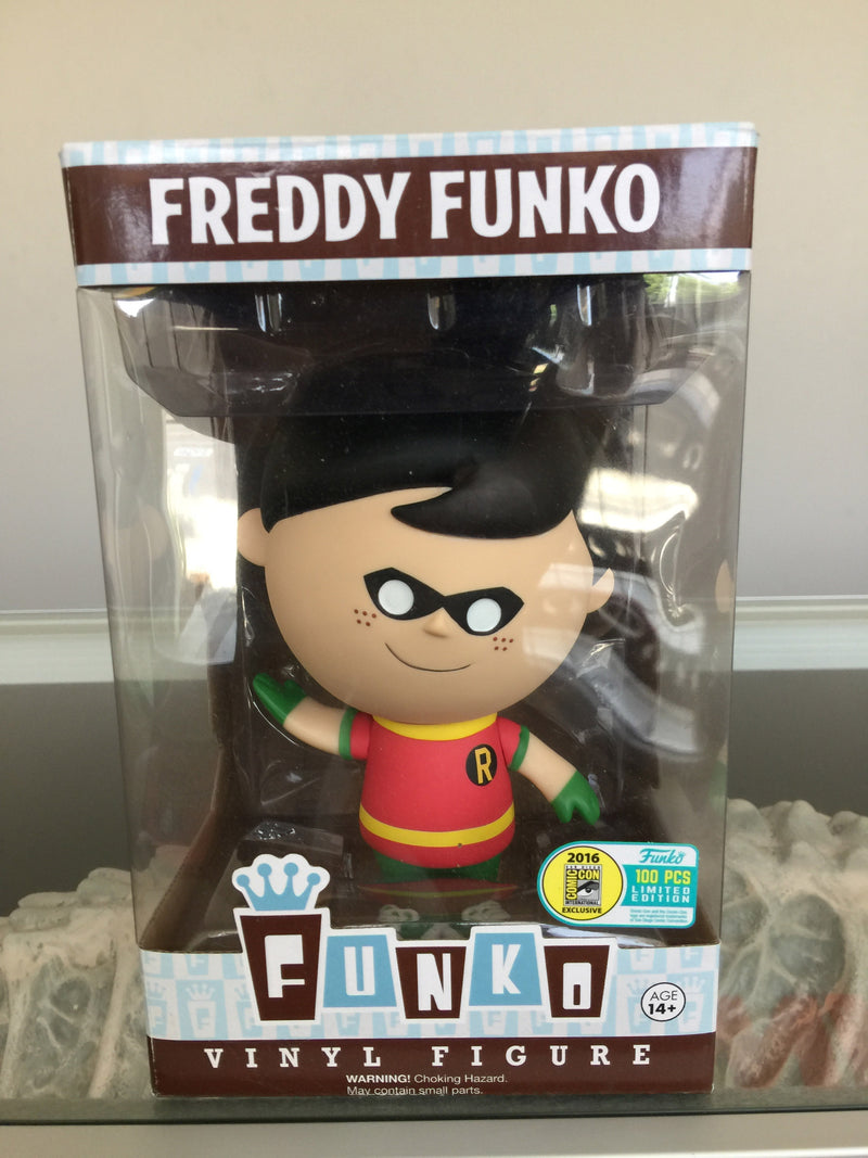 SDCC 2016 Fundays Freddy Funko Robin Vinyl Figure LE 100