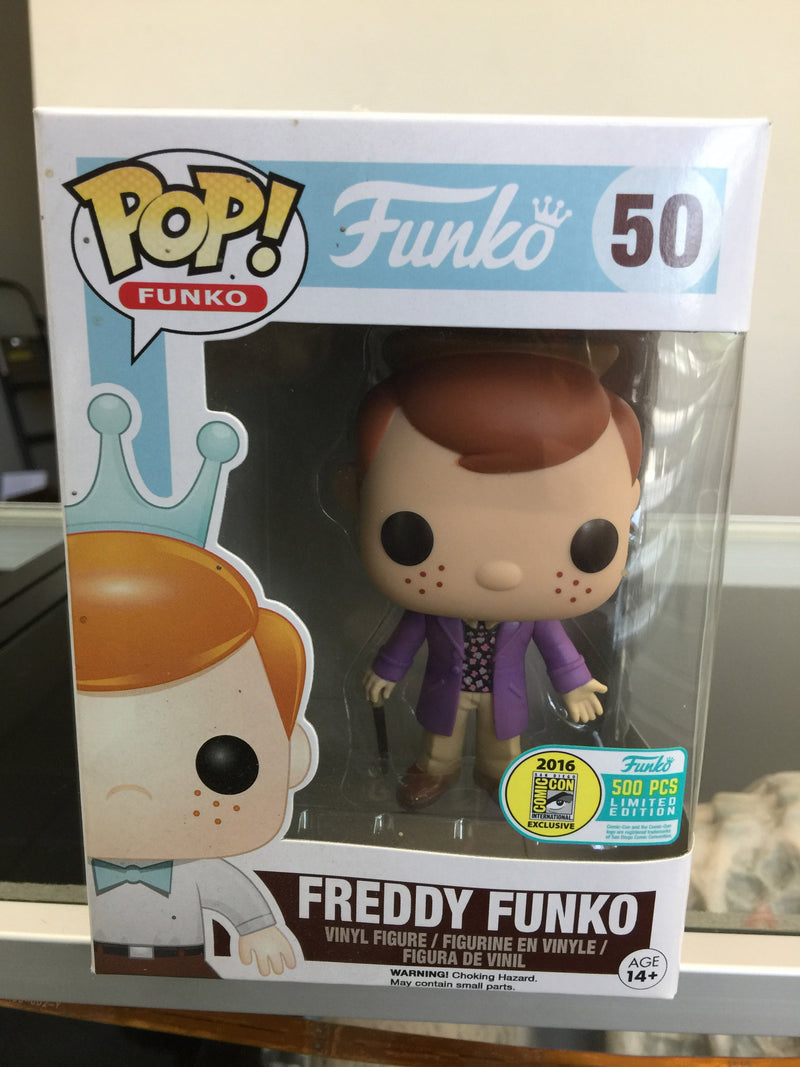 SDCC 2016 Fundays Freddy Funko Willy Wonka POP! Vinyl Figure #50
