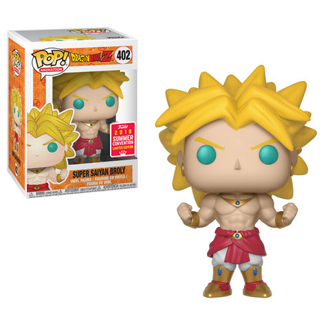 SDCC 2018 Summer Convention Exclusive Dragon Ball Z - Super Saiyan Broly Pop! Vinyl Figure
