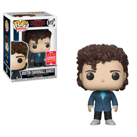 SDCC 2018 Summer Convention Exclusive Stranger Things - Dustin at Snow Ball Dance Pop! Vinyl Figure