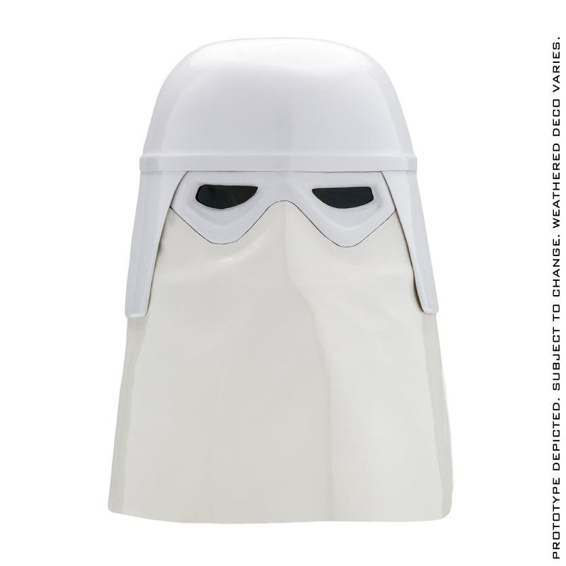 "Preorder Star Wars: Empire Strikes Back Imperial Snowtrooper ""Clean"" Helmet"