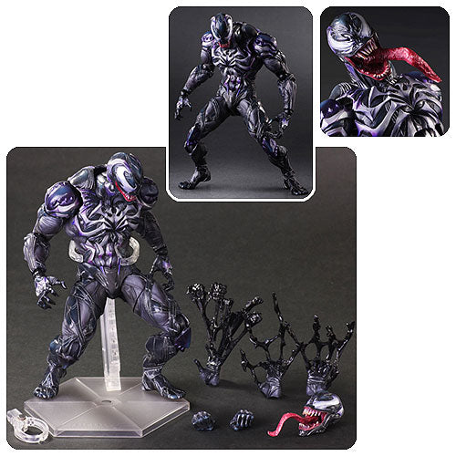 Marvel Universe Venom Variant Play Arts Kai Action Figure - Toy Wars - Square Enix
