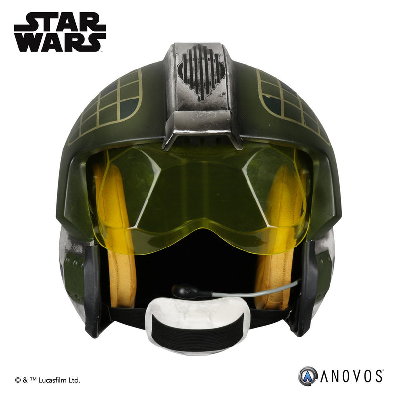 Preorder Fall 2018 Star Wars Gold Leader Rebel Pilot Helmet